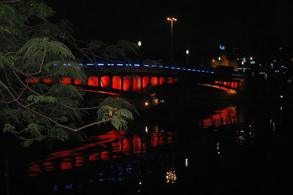 Love River Night View of Taiwan