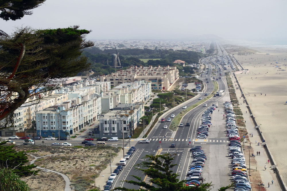 Great High Way and Ocean Beach