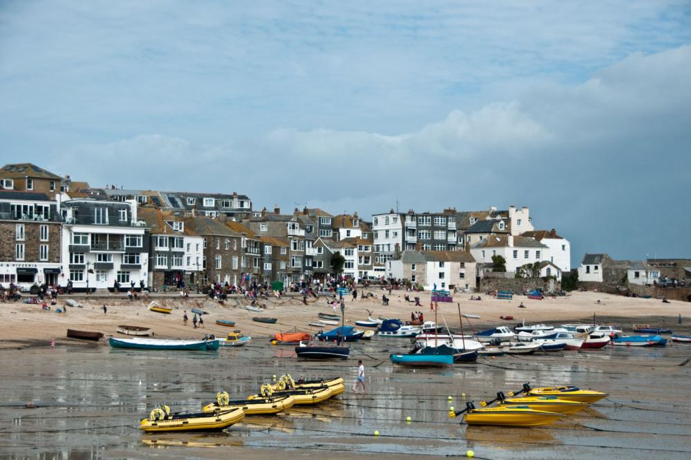 St. lves Beach at England