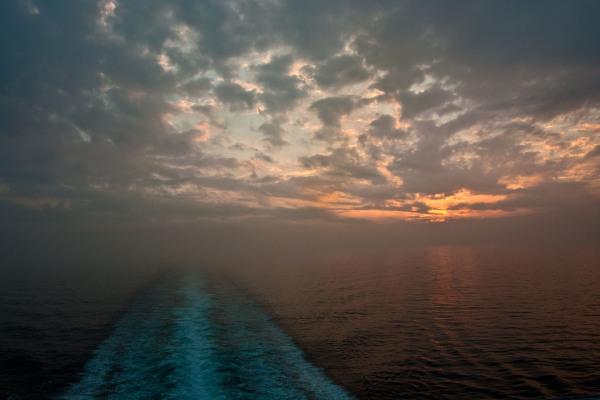 Sunset at Cruise