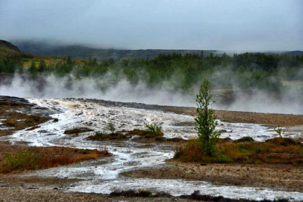 Geyser at Iceland