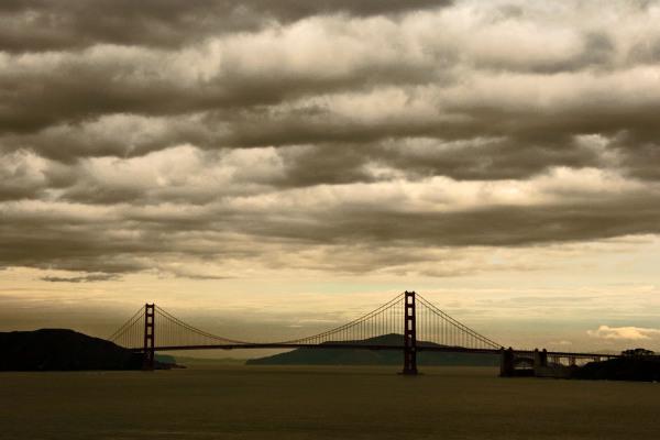 Golden Gate Bridge from Mile Rock