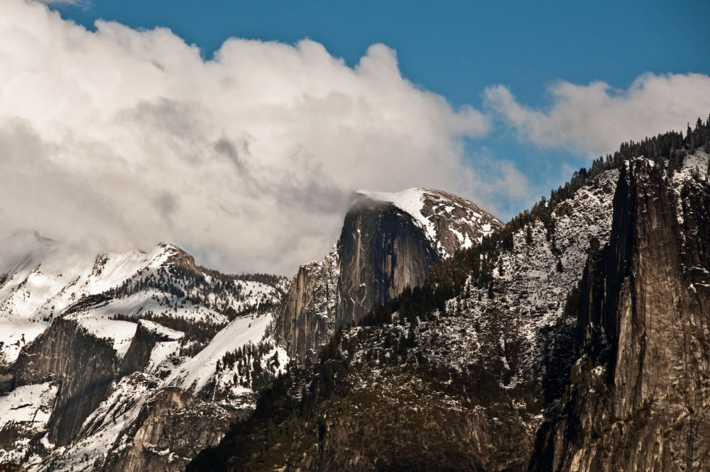 Winter view at Yosemite