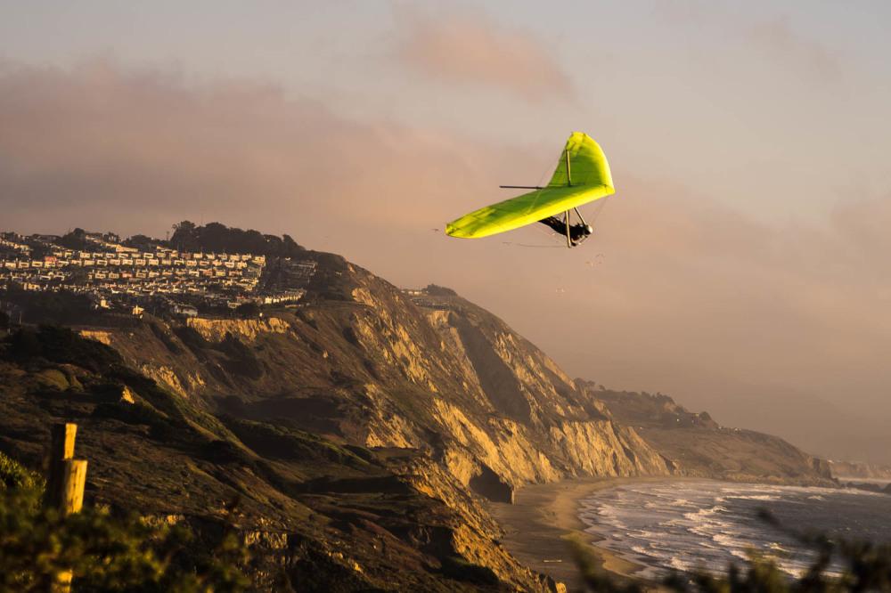 Glider at Fort Funston