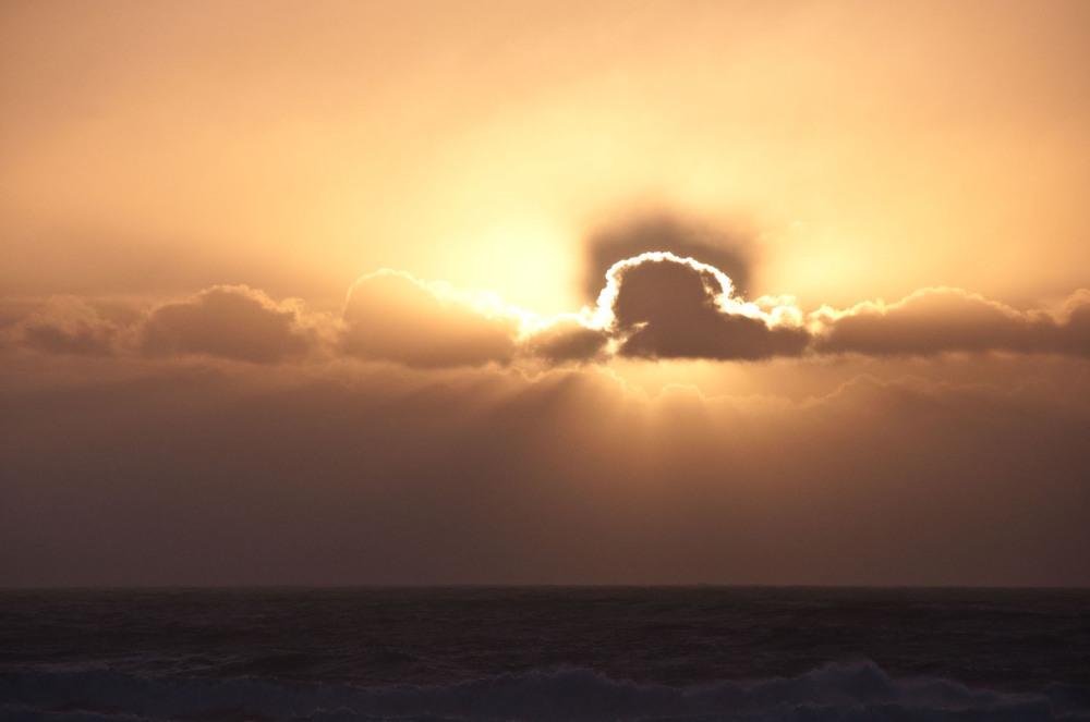 Windy sunset at The Beach Tonight