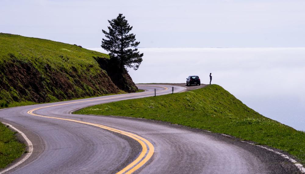 ' Road ' MT.Tamalpais