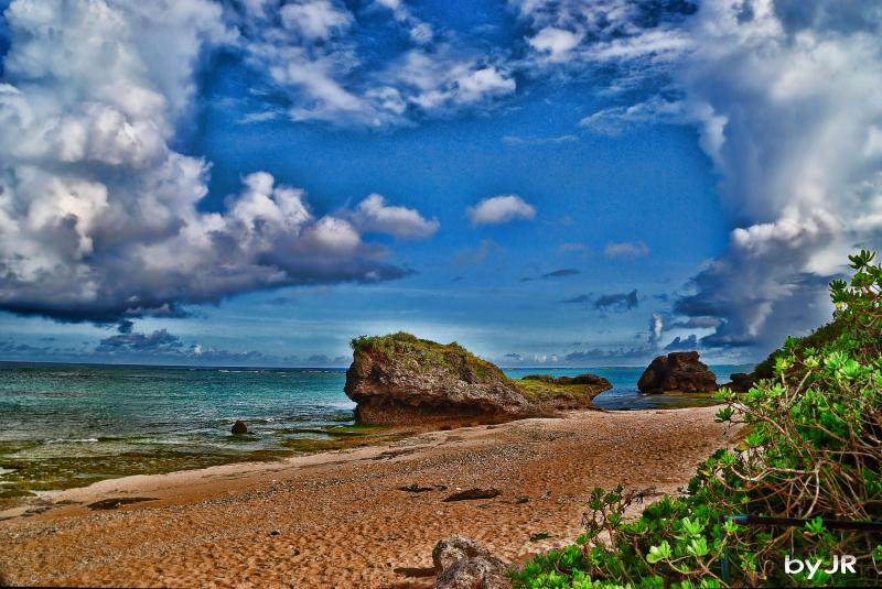 Another beautiful Okinawan beach.
