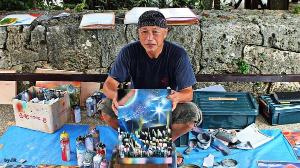 Meet Takashi a Japanese street artist.