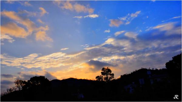 An Okinawa morning sky.