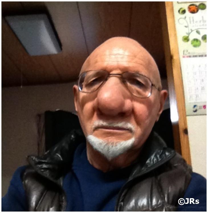 Jr needs a nose job.