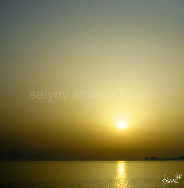 Posta de sol a Serdenya