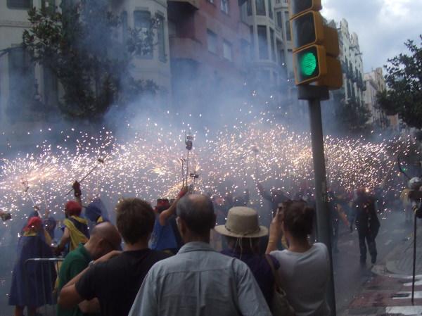BARCELONA  (Spain)  Festes de  Gràcia , agost 2015