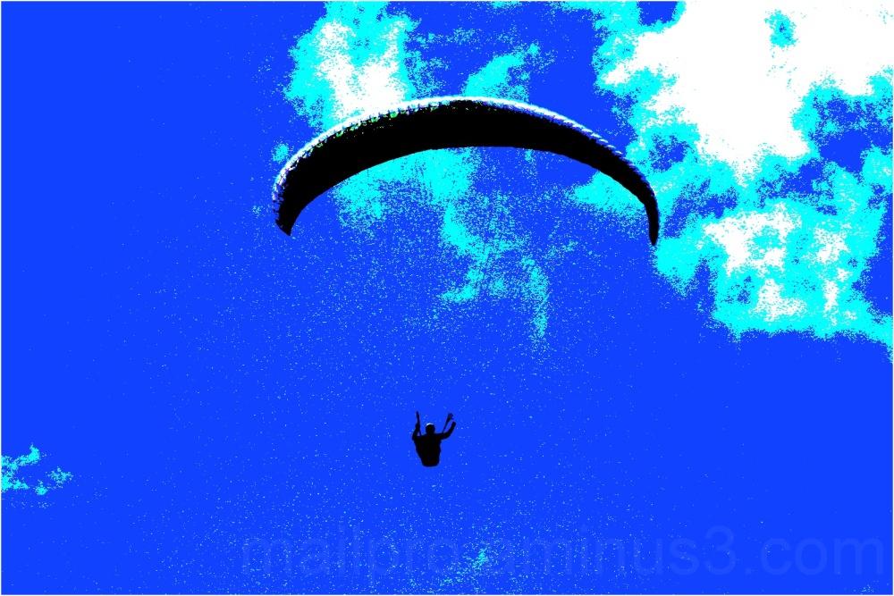 Flug ins Blaue