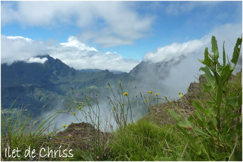 Panorama des Hauts de l'ile de La Réunion