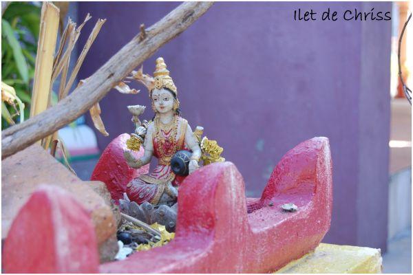 Statue dans un temple hindou