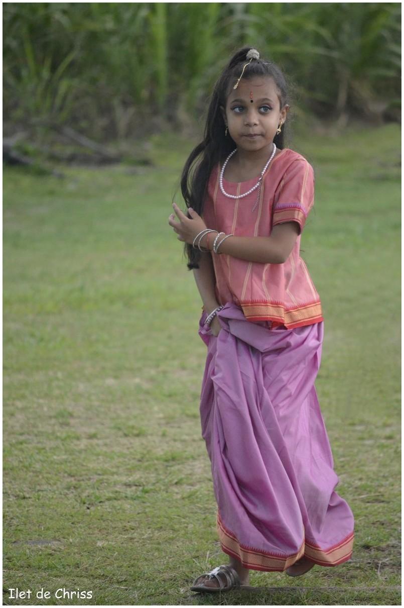 Réunionnaise d'origine indienne au Dipavali