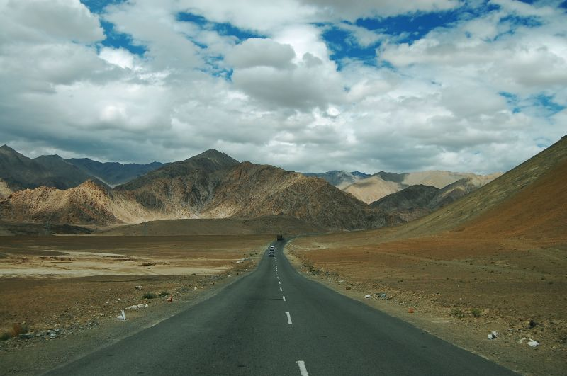 Ladakh landscape towards Alchi