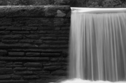 Waterfall at the Reservoir