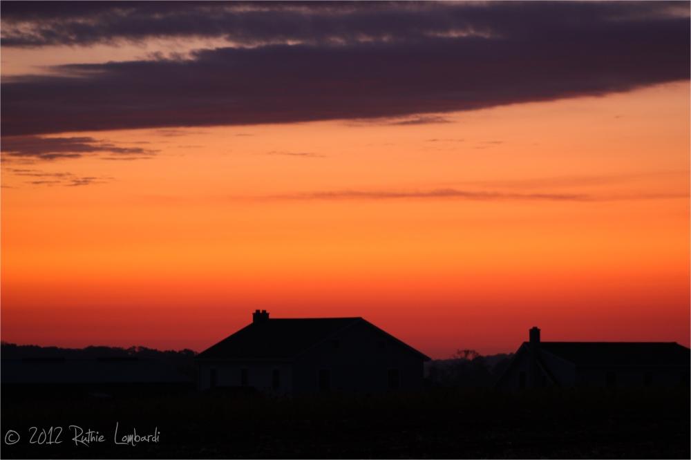 autumn sunrise oxford, pa