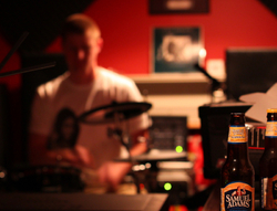 Sam Adams in the Studio
