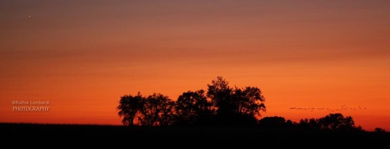 september sunset lancaster county pennsylvania
