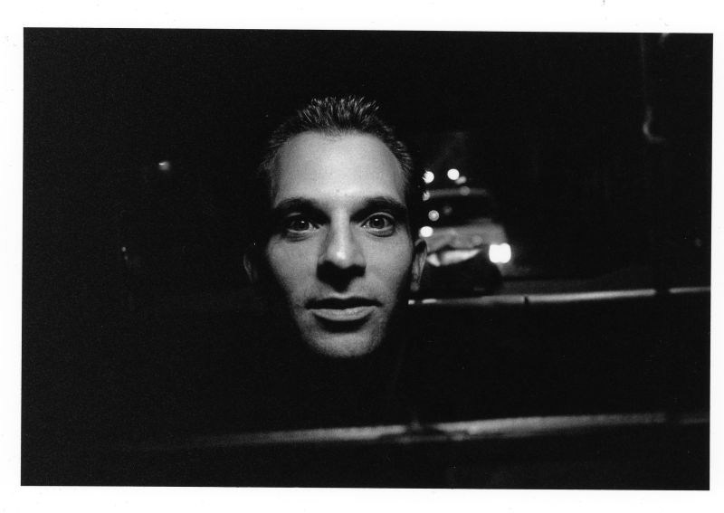 backseat nighttime passenger