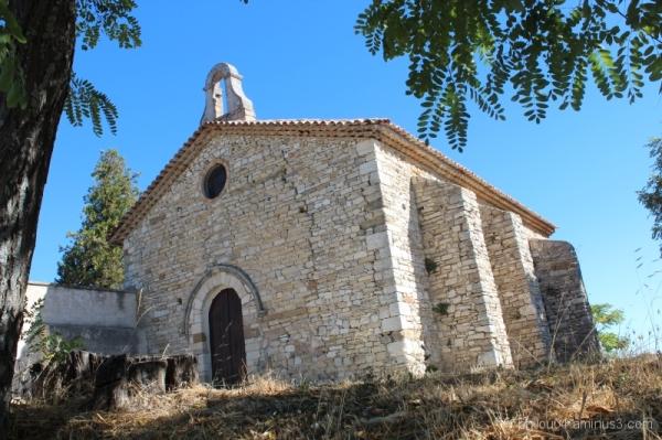 Montfuron (1) - La chapelle