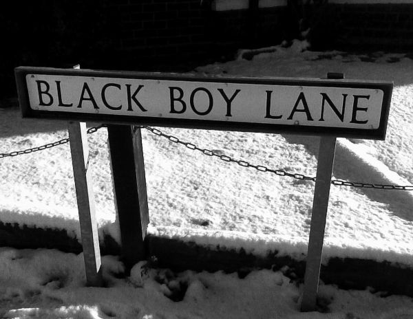 'Fight Racism;BlackBoyLane