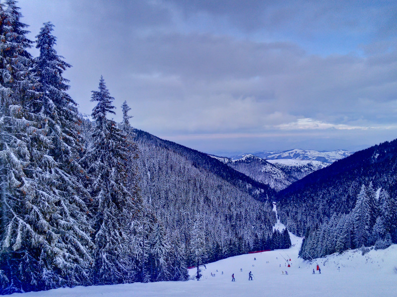 Winter Kopaonik Serbia clouds snow ski sky Duboka