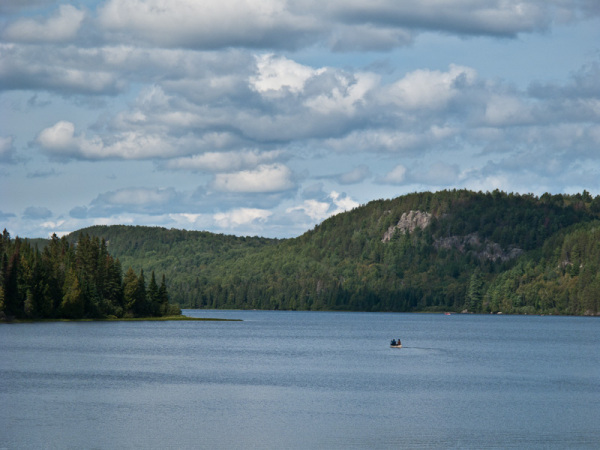Algonquin Park Ontario Whitefish Lake canoe