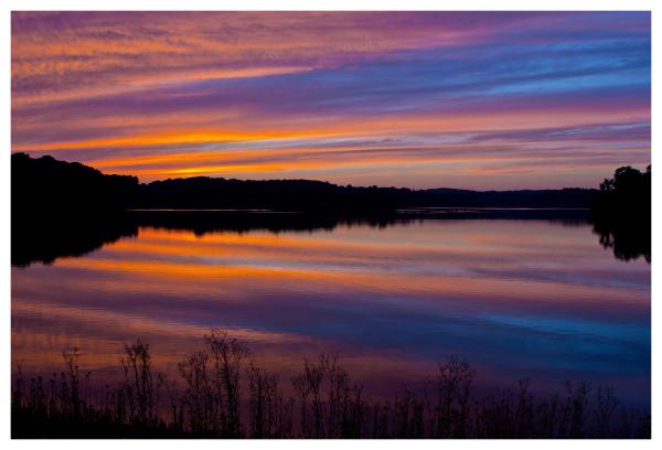 Marsh Creek Summer Sunset