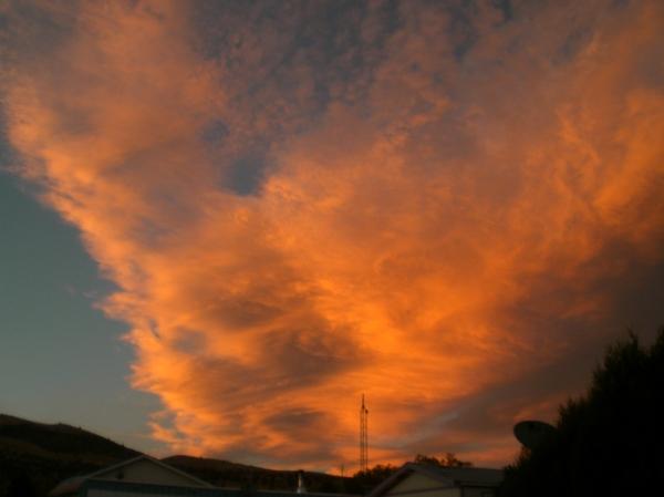 Sherpa's Sunset Oct. 2012