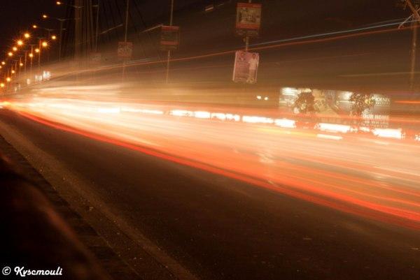 Colors of Light...Slow Shutter Speed..!