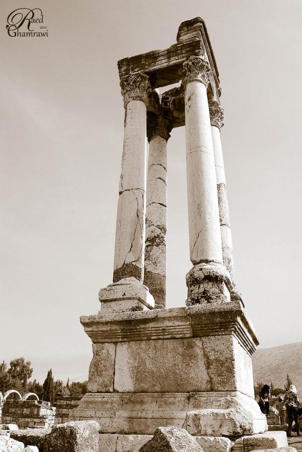 Anjar , Roman poles