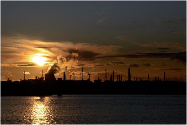 Sunset @ Terneuzen