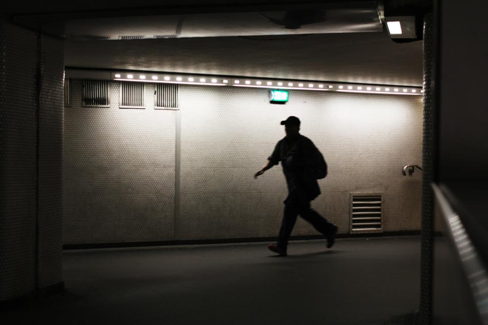 Un homme pressé