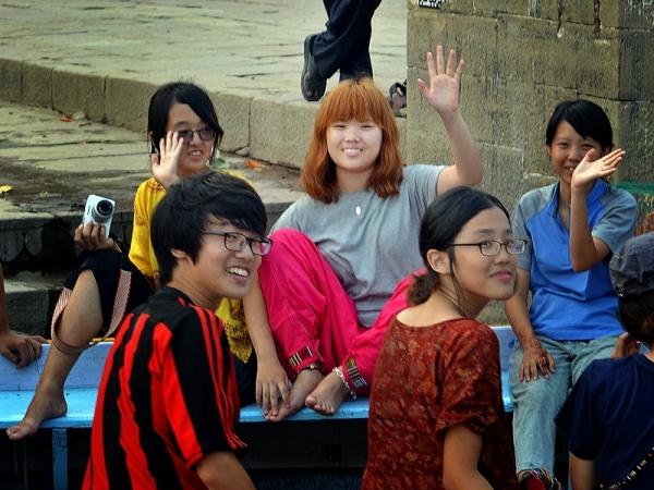 The smile's Ganges, Varanasi 12/20