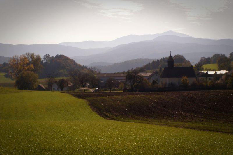 schwarzensee, a village in the vienna woods