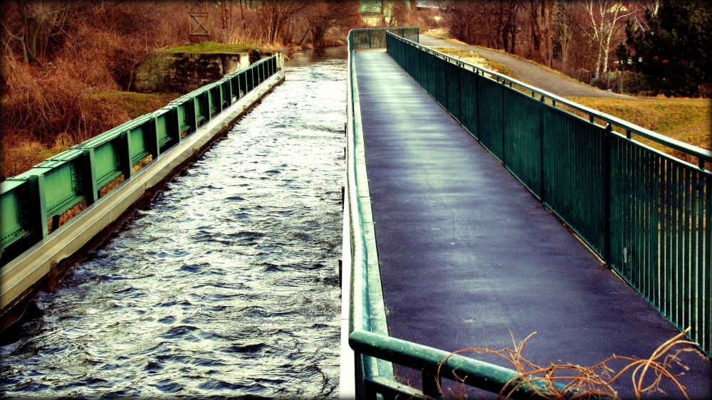 canal project #9b, the two bridges