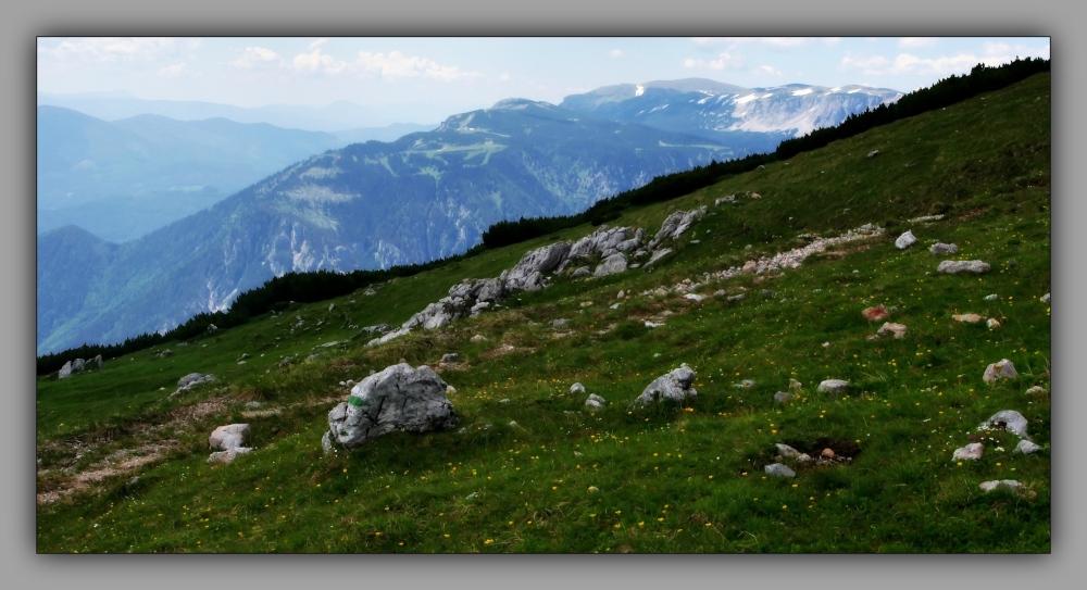 schneeberg, rax, mountains