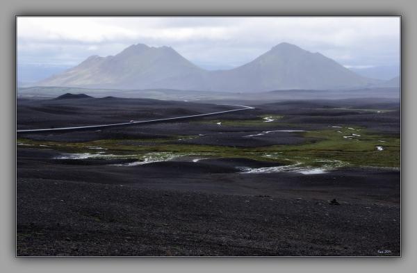 iceland 2014, highlands, desert, road
