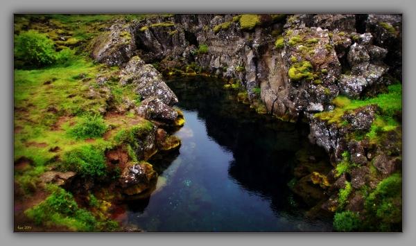 iceland 2014, Þingvellir, crack
