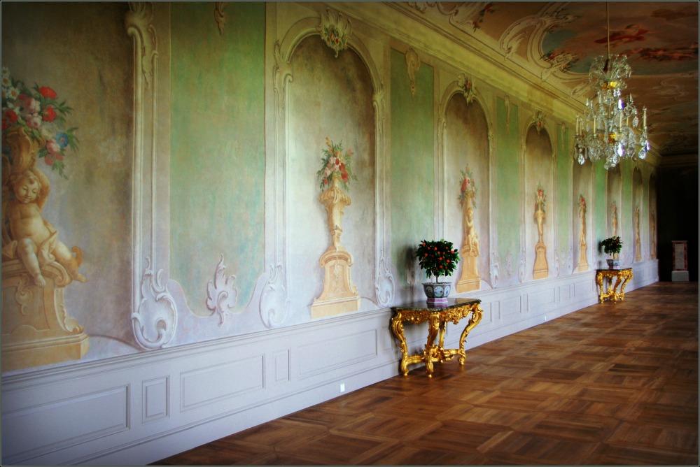 baltic states, latvia, rundāle palace, gallery