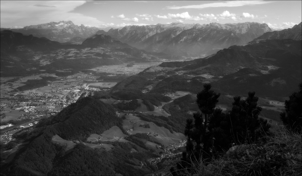 austria, salzburg, untersberg, mountains, salzach