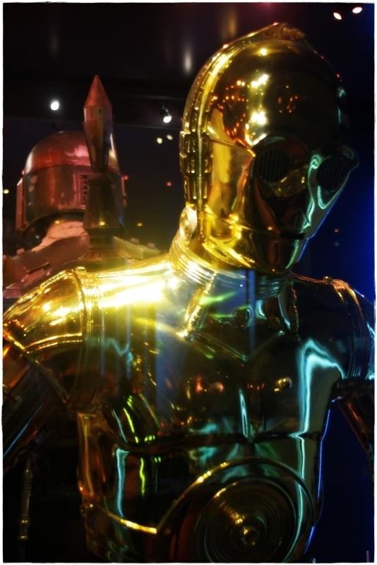 star wars, C-3PO, vienna, exhibit