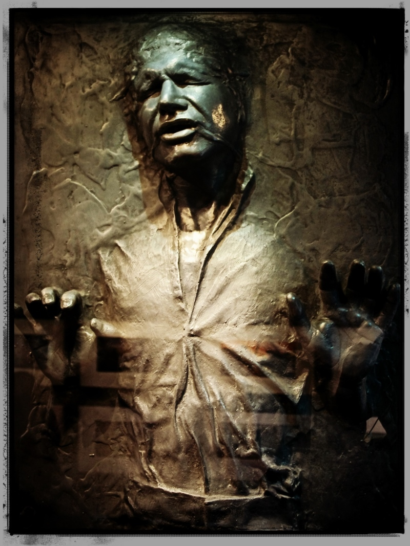 star wars, han solo, carbonite, vienna, exhibit