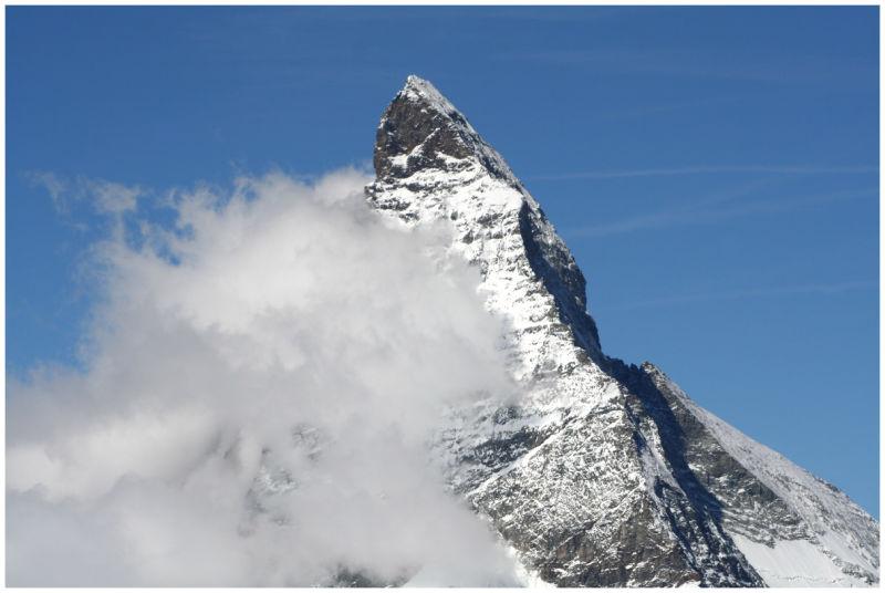 Matterhorn Alps Switzerland Mountains