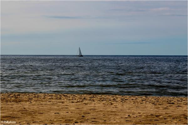 sailboat sea beach water sand