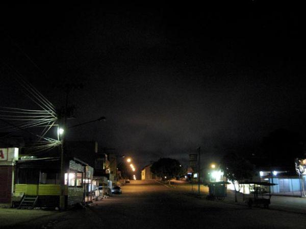 La lumière de la nuit - Oiapoque - Brésil