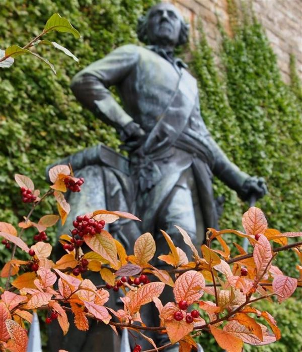 Statue at the castle  Hohenzollern